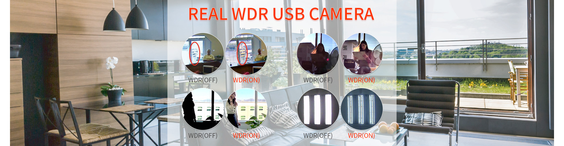 real wdr usb camera