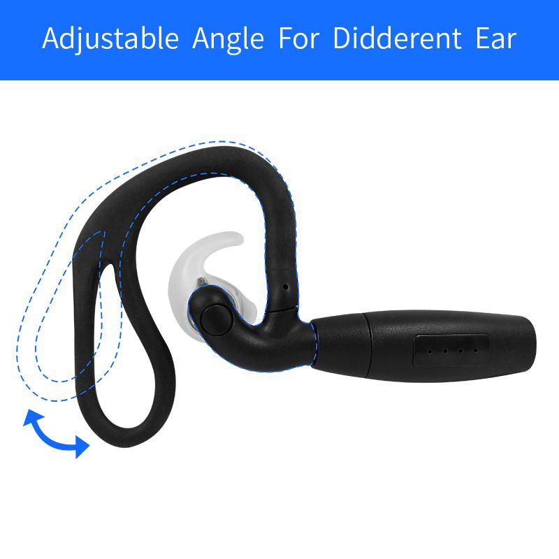 720P Mobile Surveillance Wearable Headset Ear Hook External
